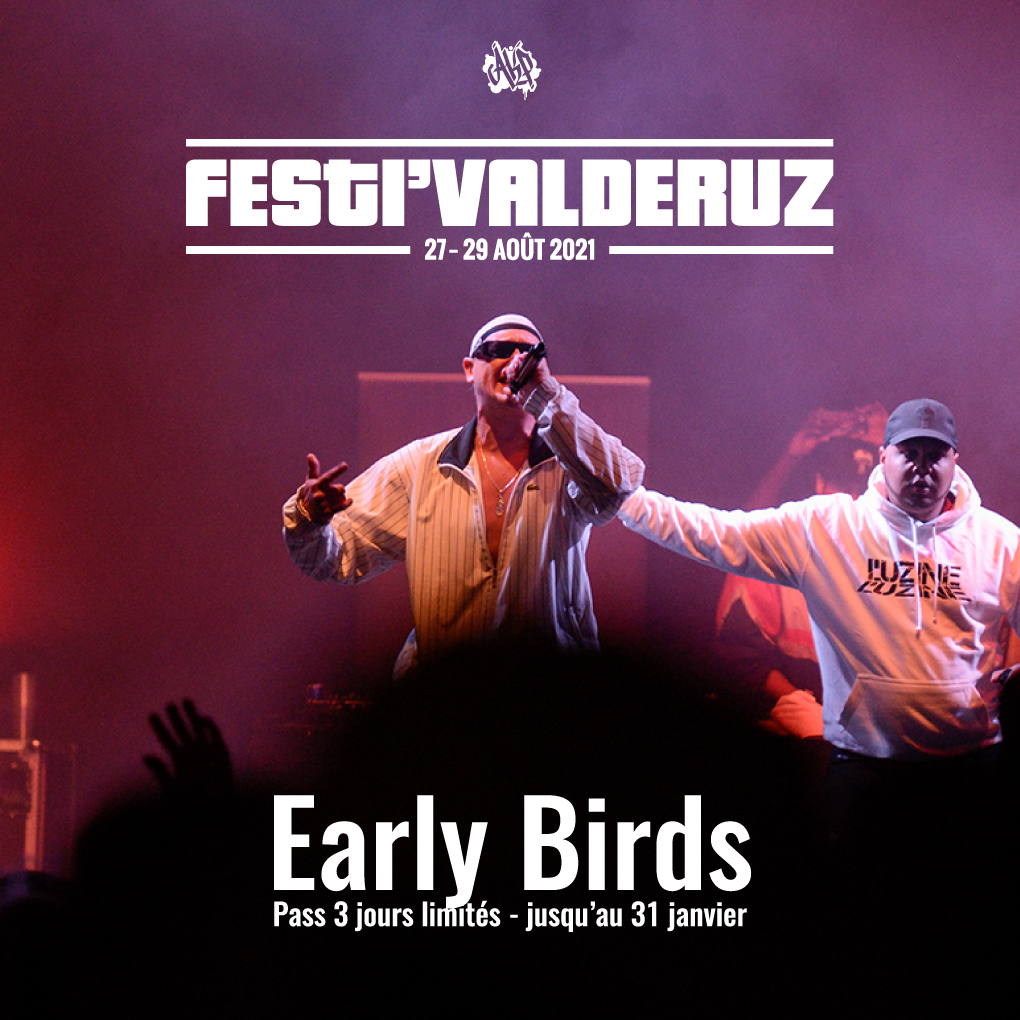 EARLY BIRD 2021 – OFFRE LIMITEE